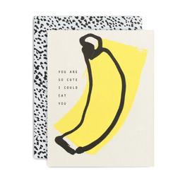Cute Banana Card