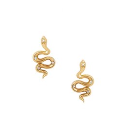 Serpent Stud Earrings
