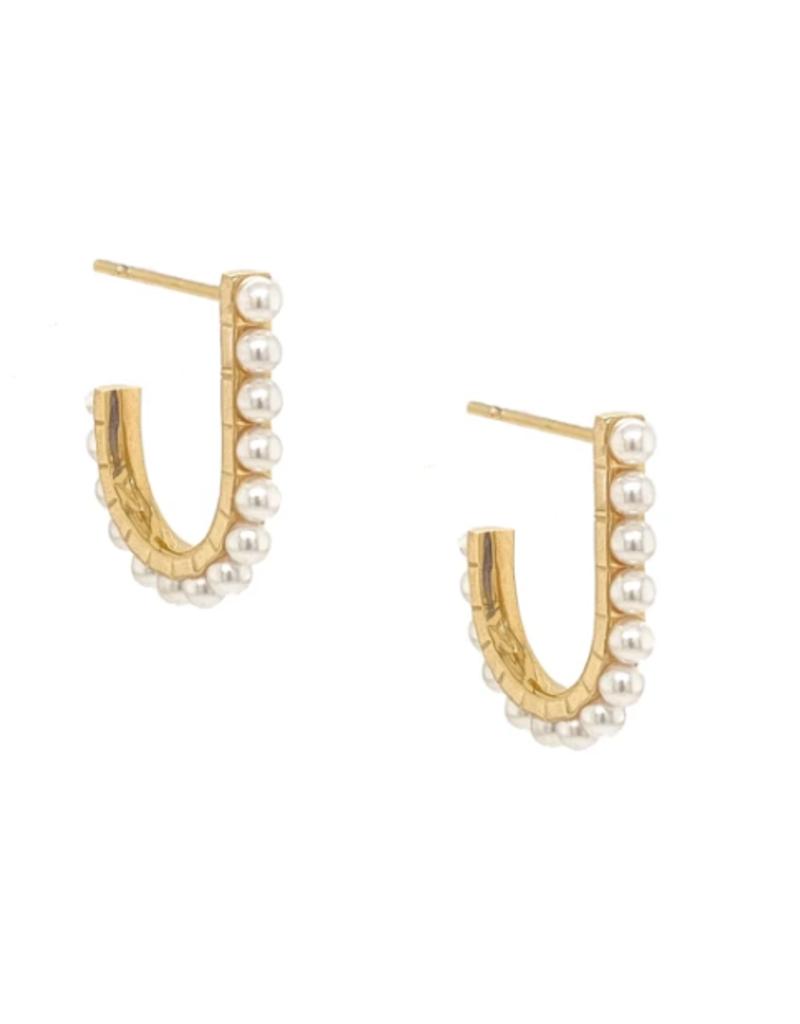 Jameela Pearl Earrings