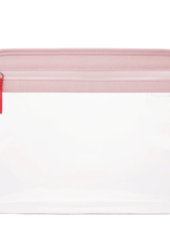 Clarity Pouch Large - Petal