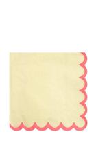 Pastel Neon Edge Small Napkins