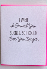 Love You Longer Card