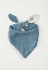 Deluxe Muslin Reversible Bandana Bib - Gone Fishing