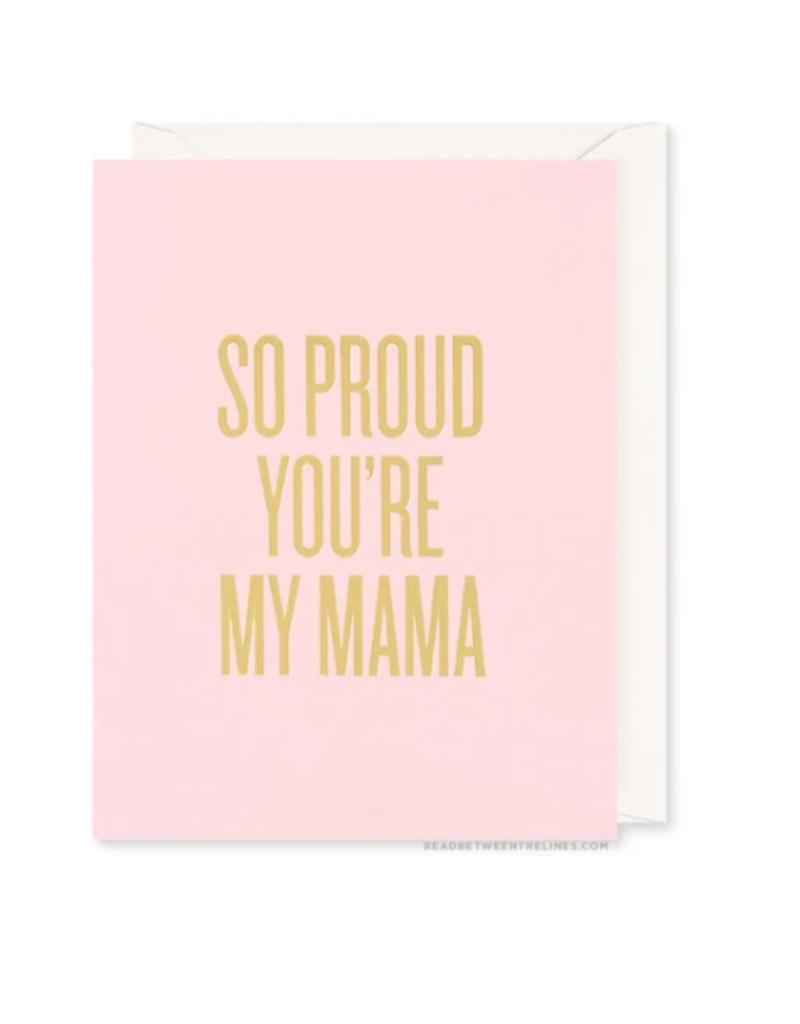 Proud Mama Card