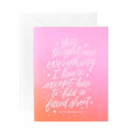 Fitted Sheet Card