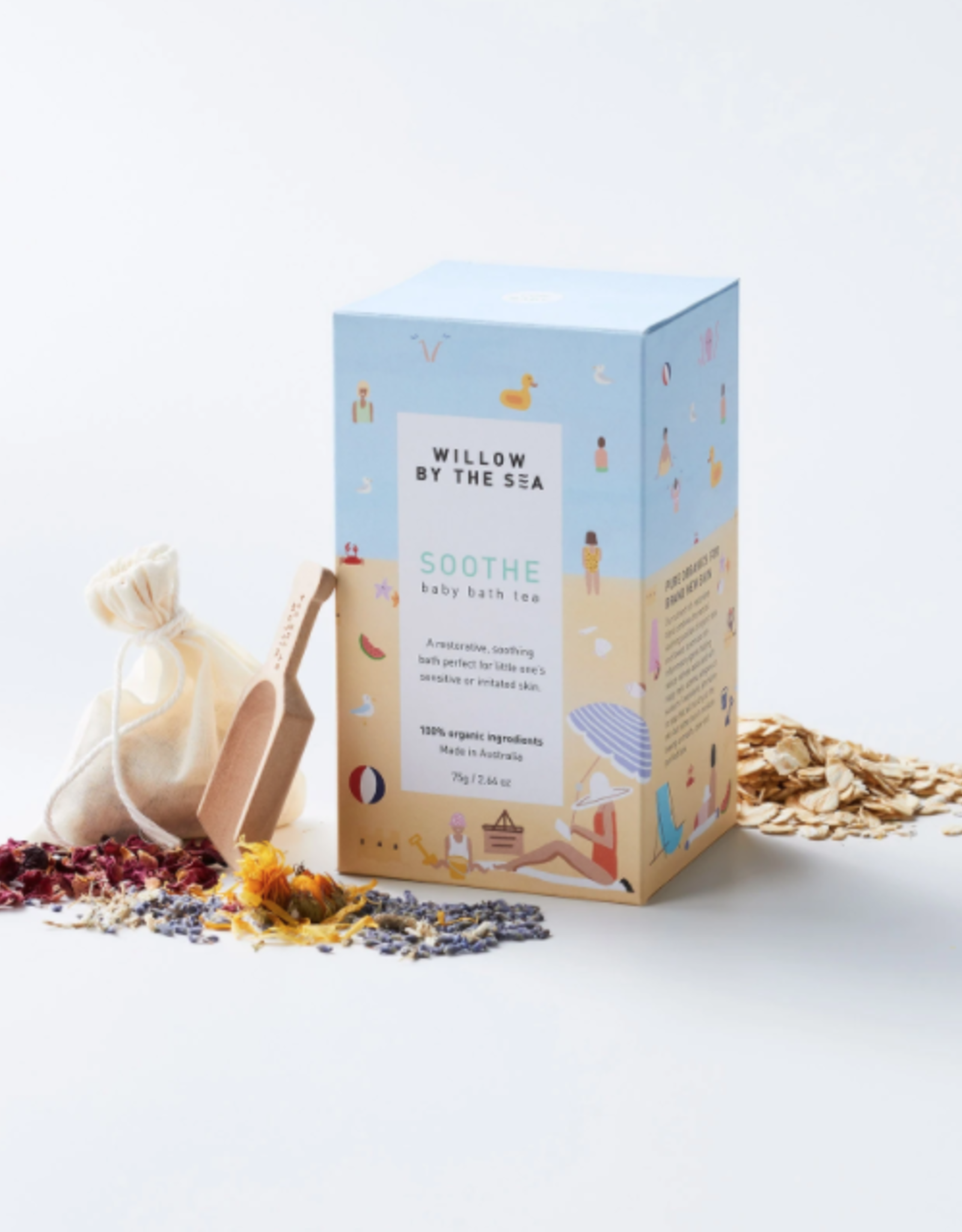 Organic Soothe Baby Bath Tea