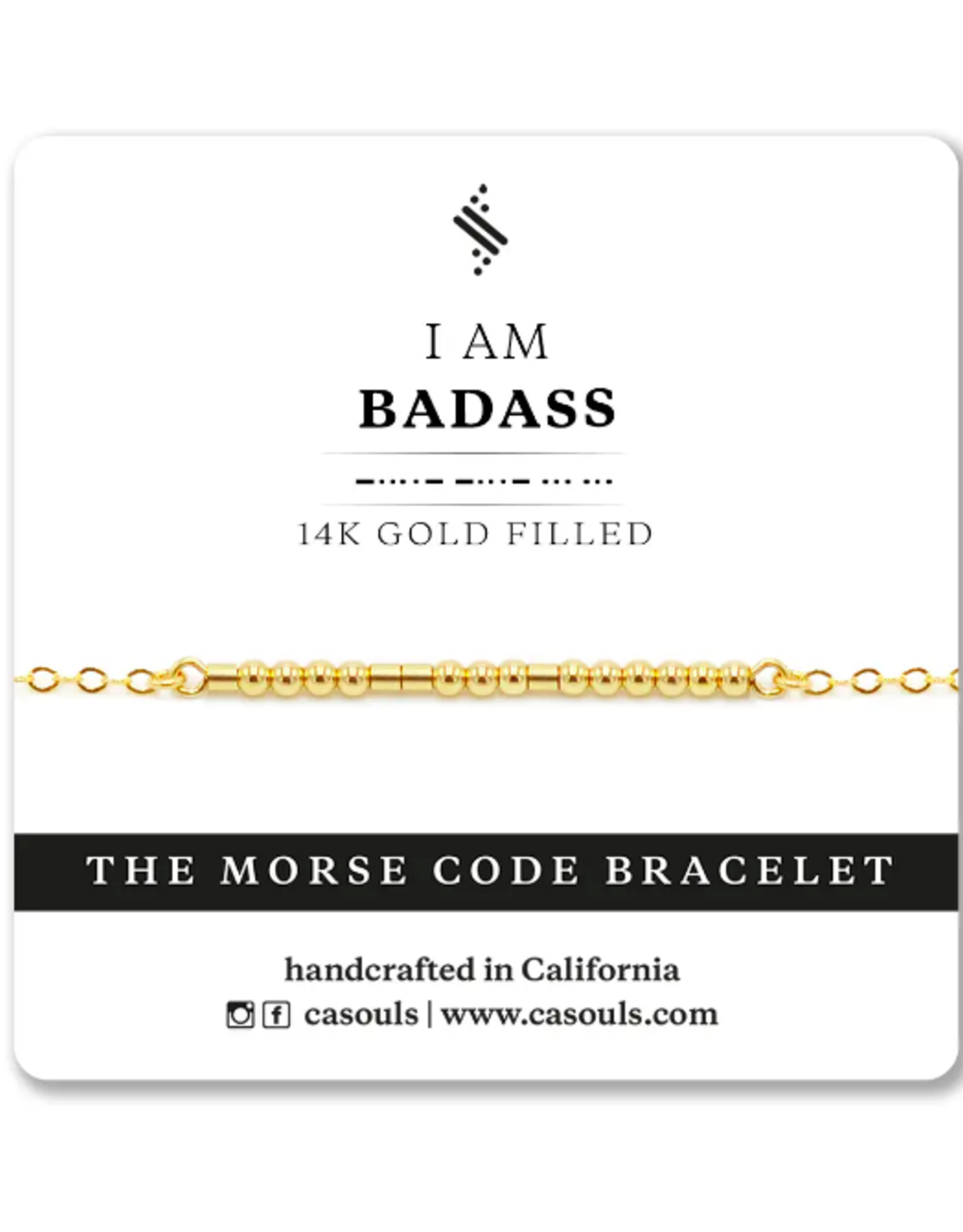 I Am Morse Code Bracelet