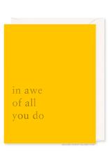 In Awe Card