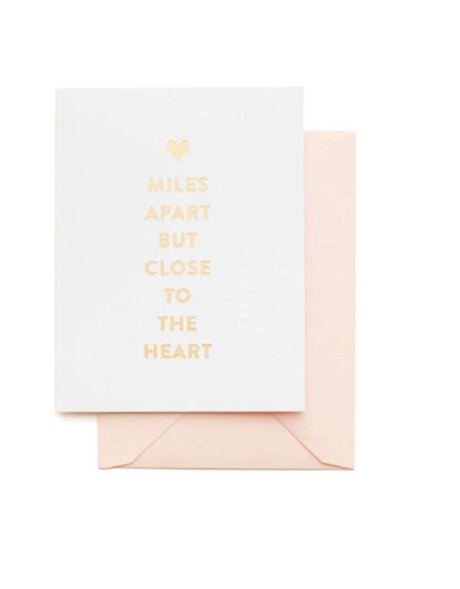Miles Apart Card