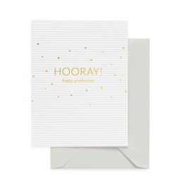 Hooray! Happy Graduation Card