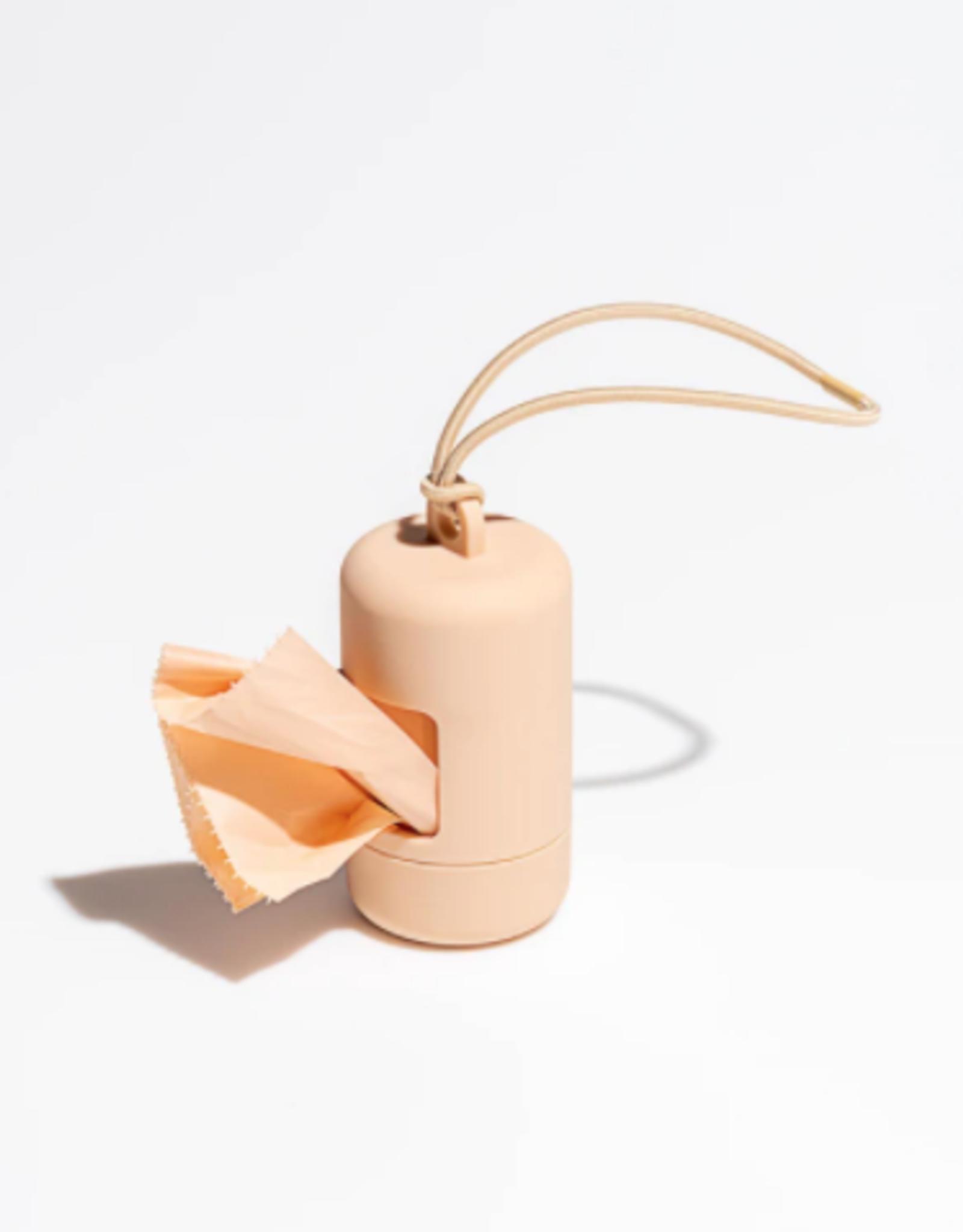 Tan Poop Bag Carrier