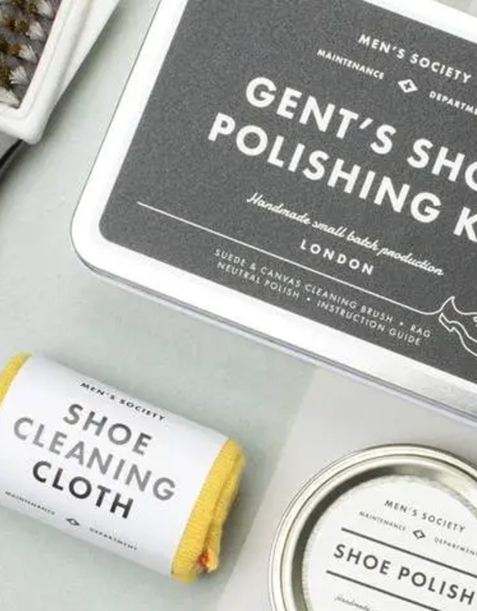 Gent's Shoe Polishing Kit