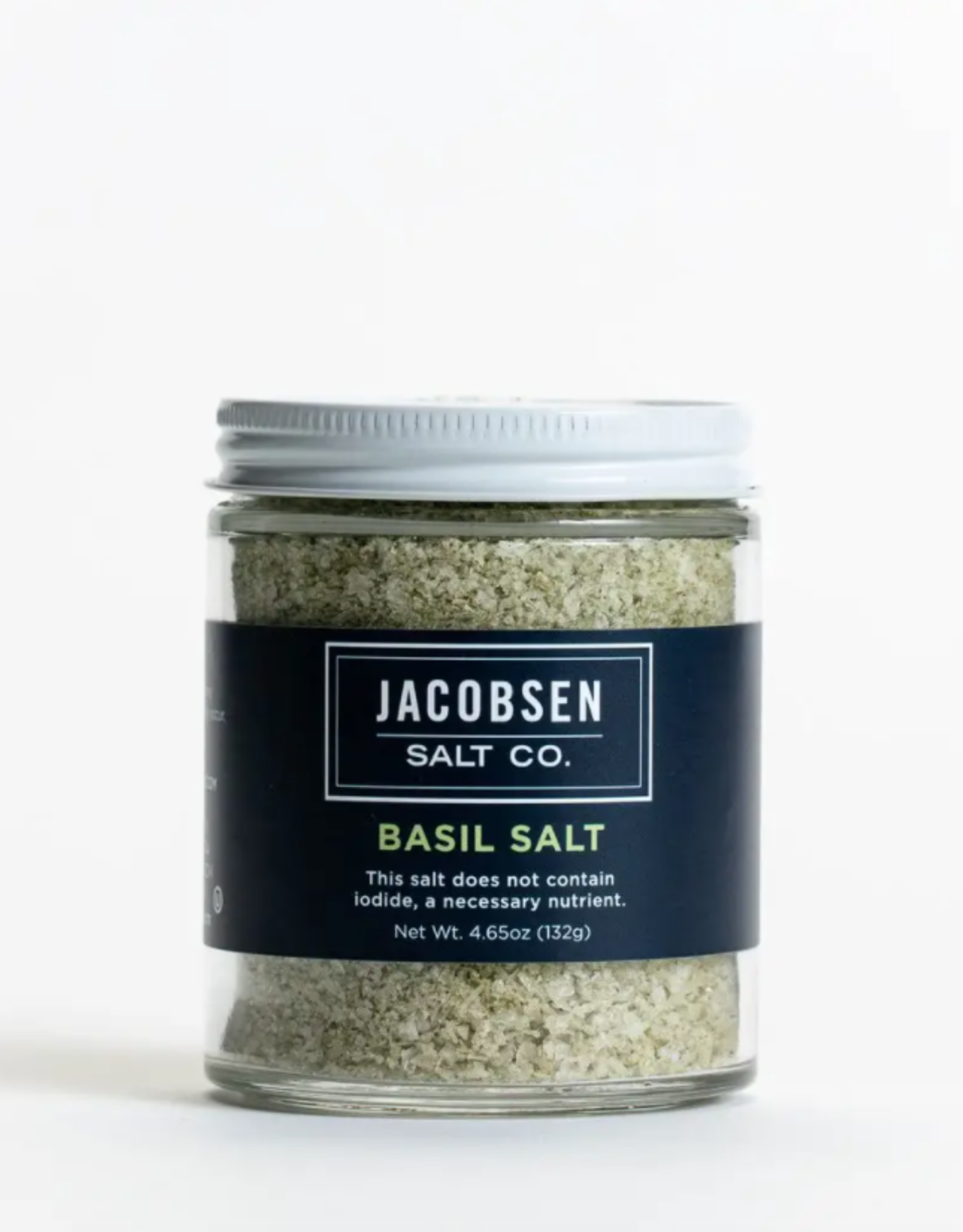 Infused Basil Salt
