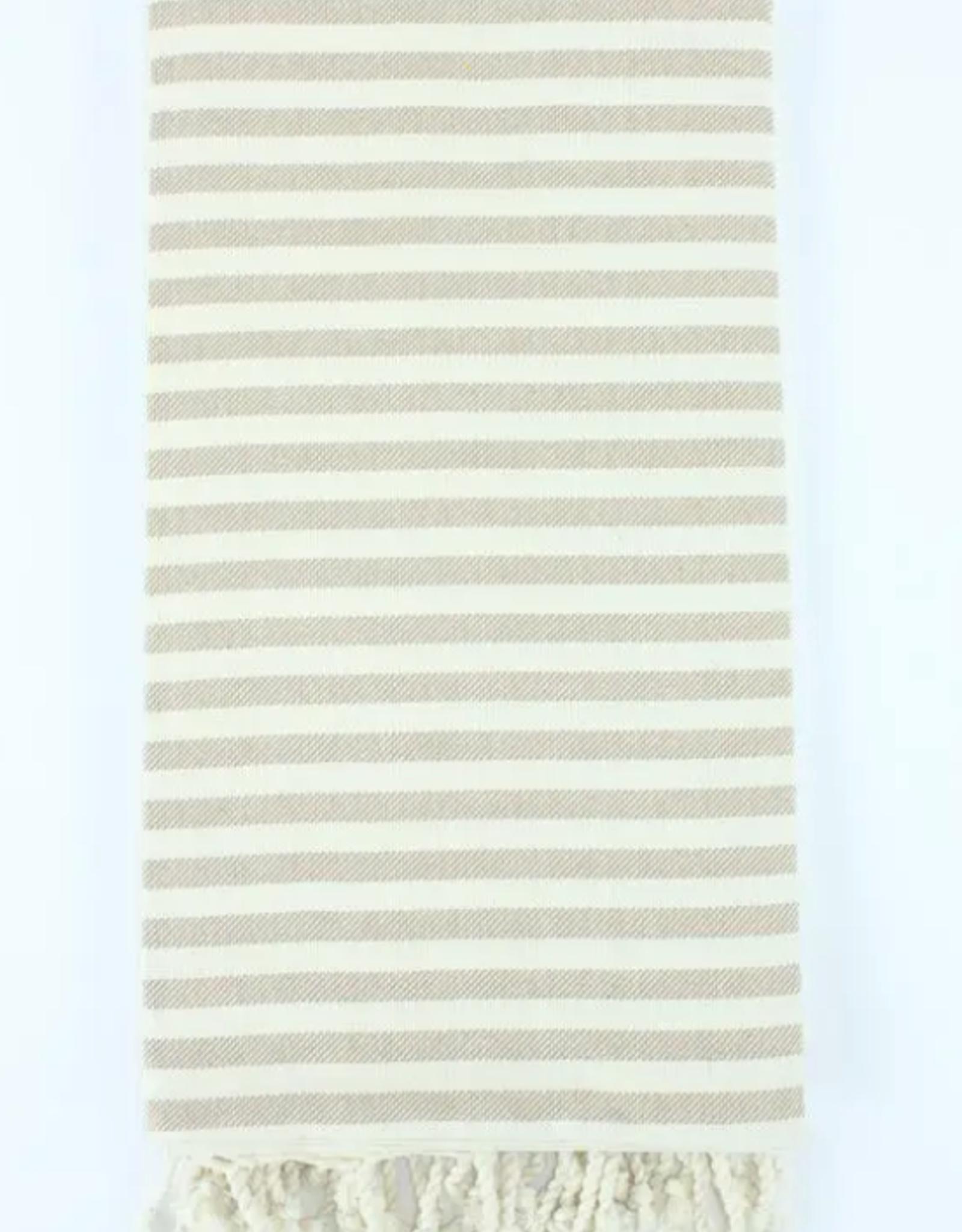 Striped Turkish Peshtemal Towel