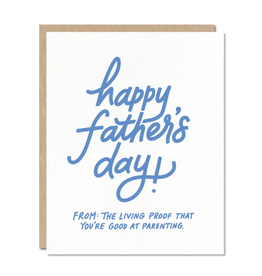 Father's Day - Living Proof Card