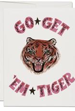 Go Get 'Em Tiger Card