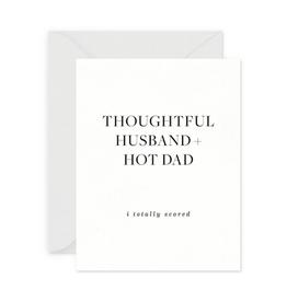Thoughtful Husband Card