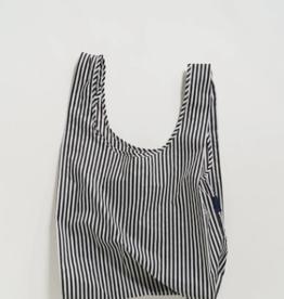 Standard Baggu - Black & White Stripe