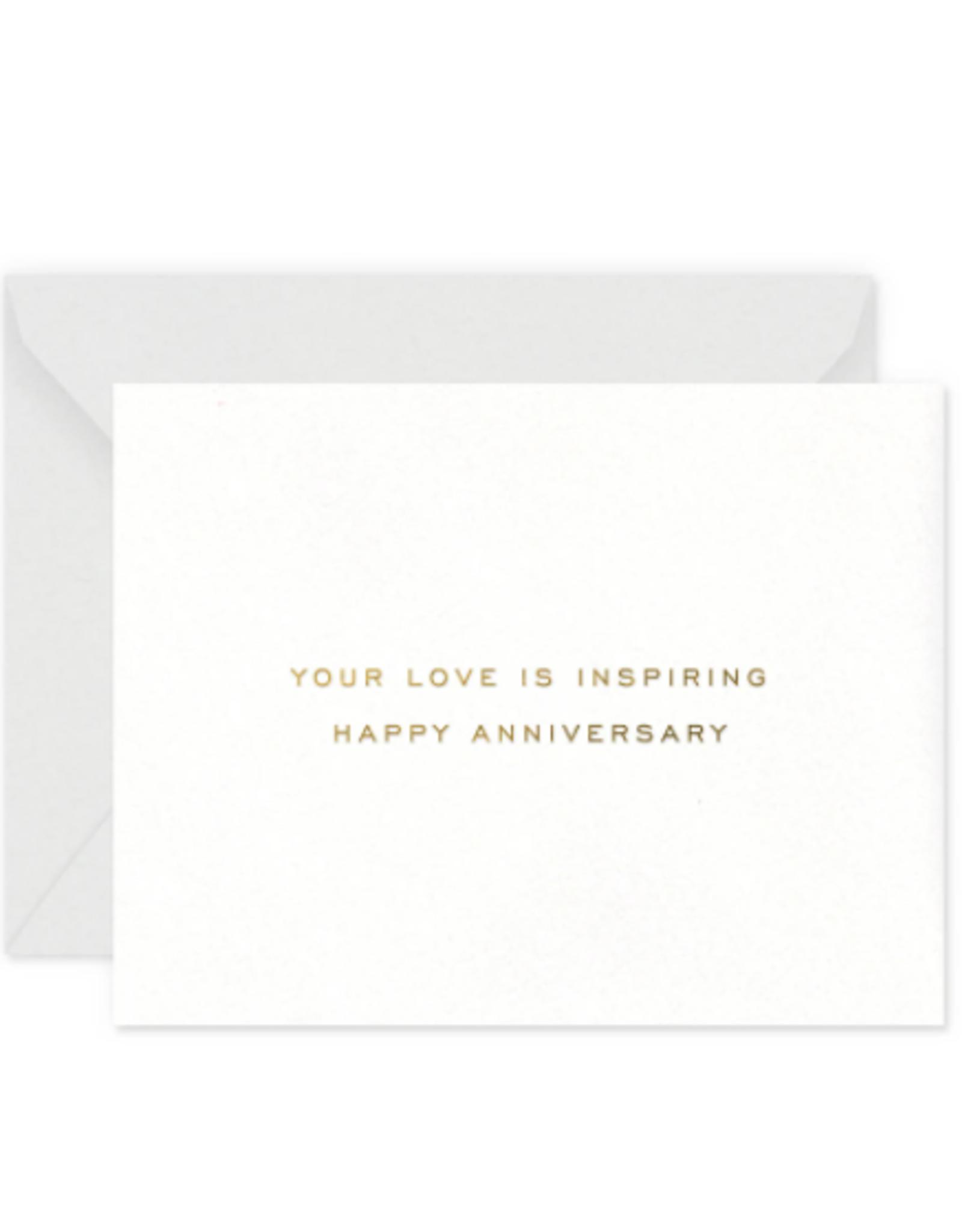 Inspiring Anniversary Card