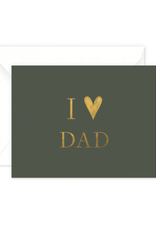 I Heart Dad Card
