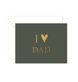 I Heart Dad Card