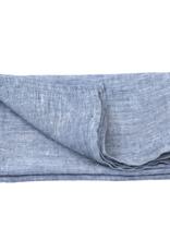 Linen Kitchen Towel - Heather Blue