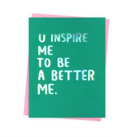 Better Me Card