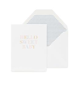 Hello Sweet Baby Card