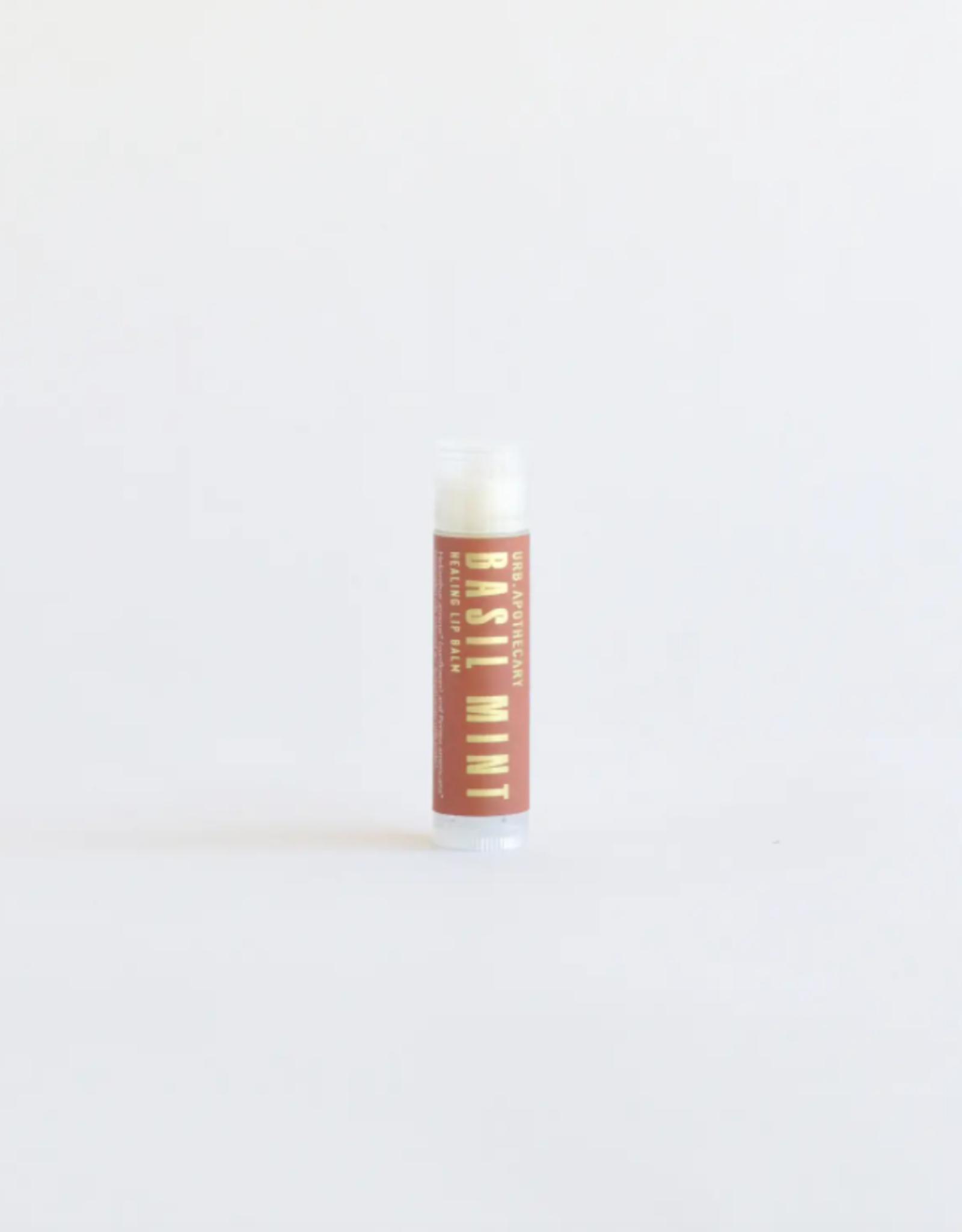 Basil Mint Herbal Lip Balm