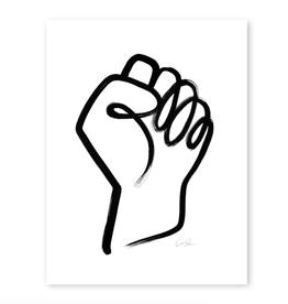 """Resist Sign Print 8"""" x 10"""""""