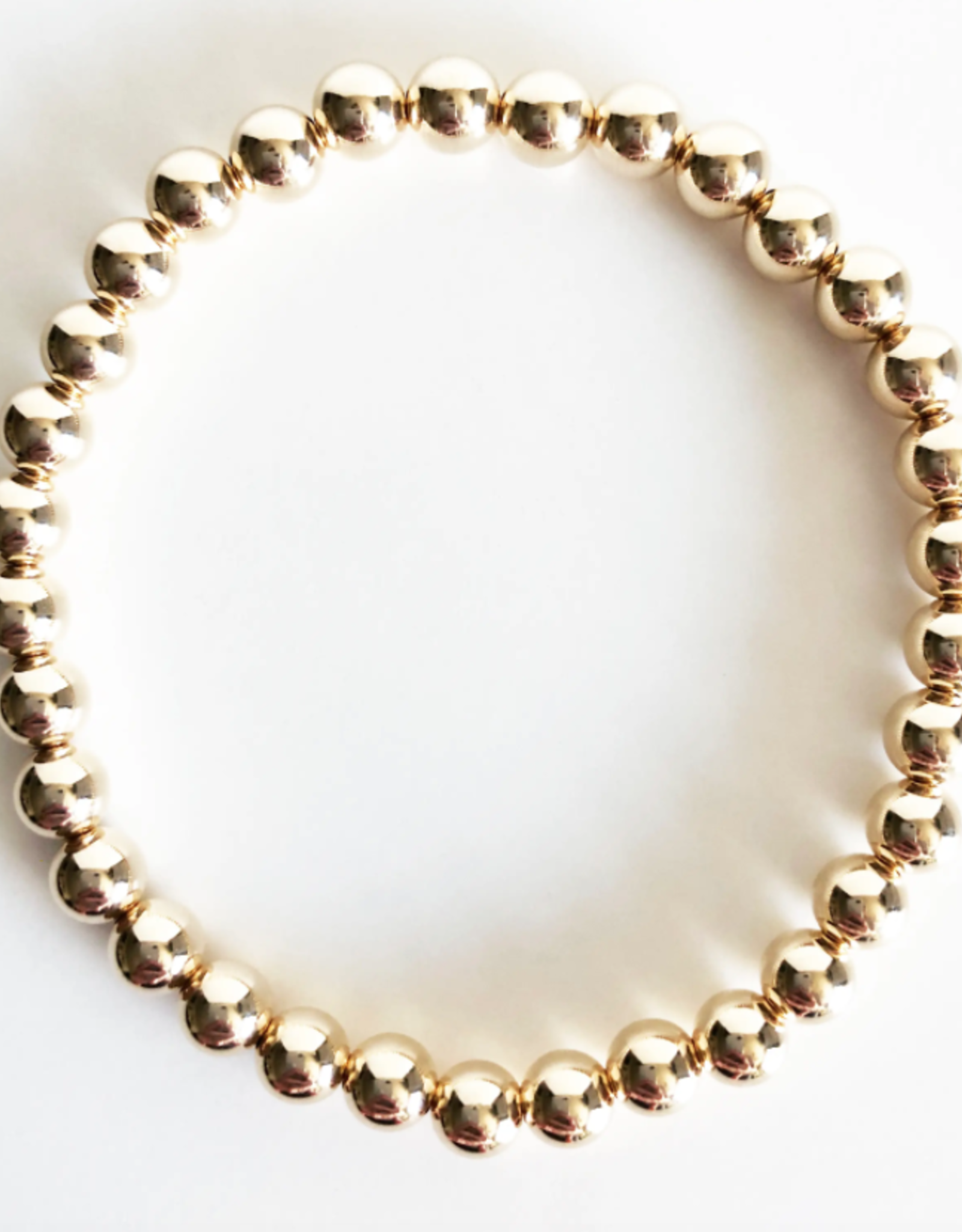 Gold Filled Beaded Bracelet