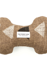 Amani Clay Dog Bone Squeaky Toy