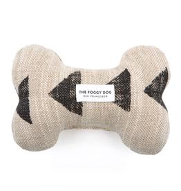 Amani Sand Dog Bone Squeaky Toy