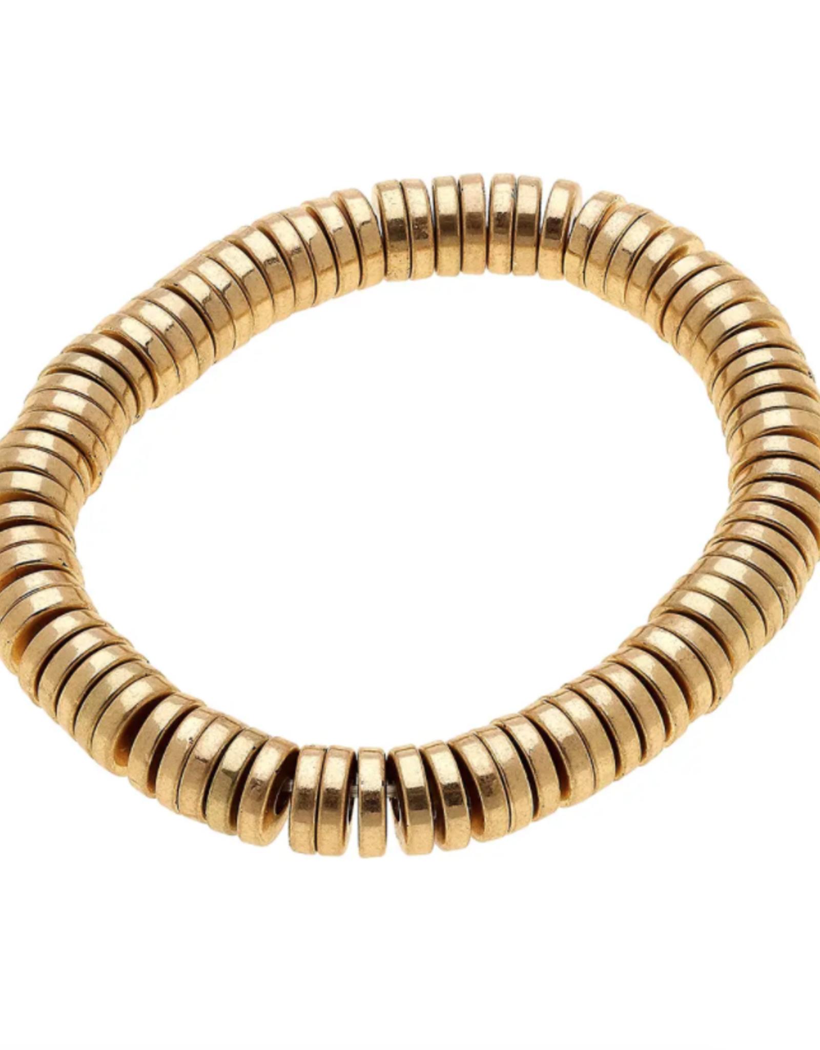 Emberly Bracelet - Worn Gold