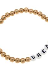 Caterina Block Letter Bracelet