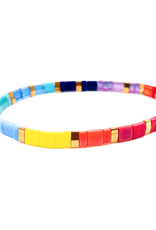 Bright Miyuki Bracelet