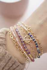Healing Gemstone Stacking Bracelets