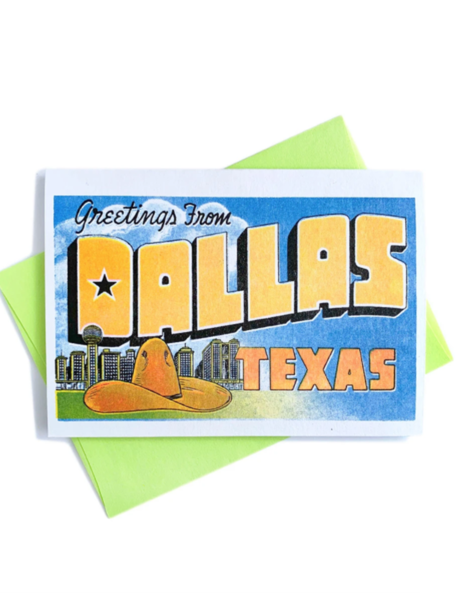 Greetings from Dallas, Texas Card