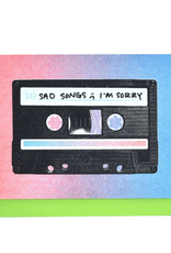 Sad Songs Cassette Card