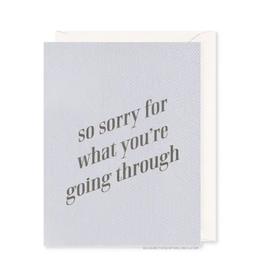 So Sorry Card