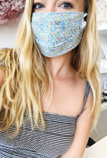 Katie and Millie Face Mask - Blue