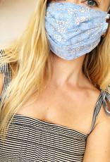 Capel Face Mask - Blue