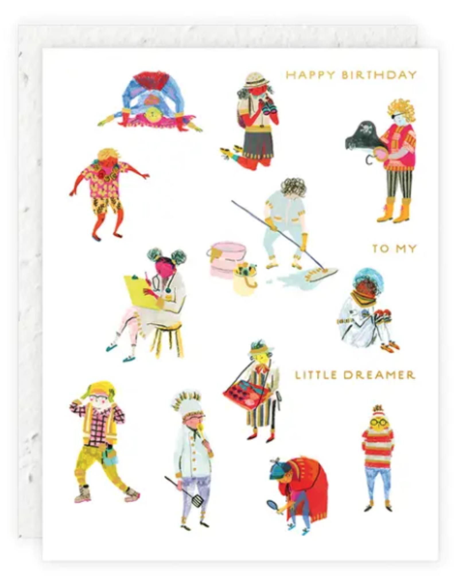 Little Dreamer Birthday Card