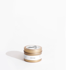 Hinoki Gold Travel Candle
