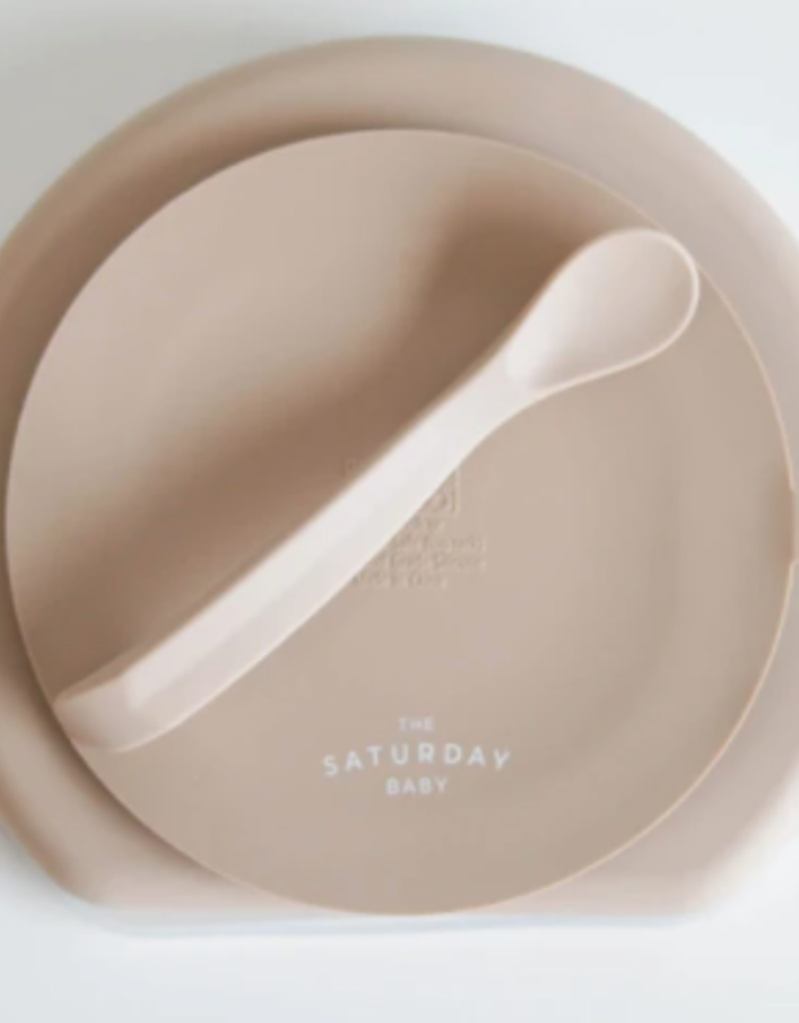 Silicone Suction Plate - Sand