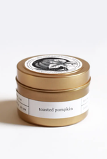 Toasted Pumpkin Gold Travel Candle