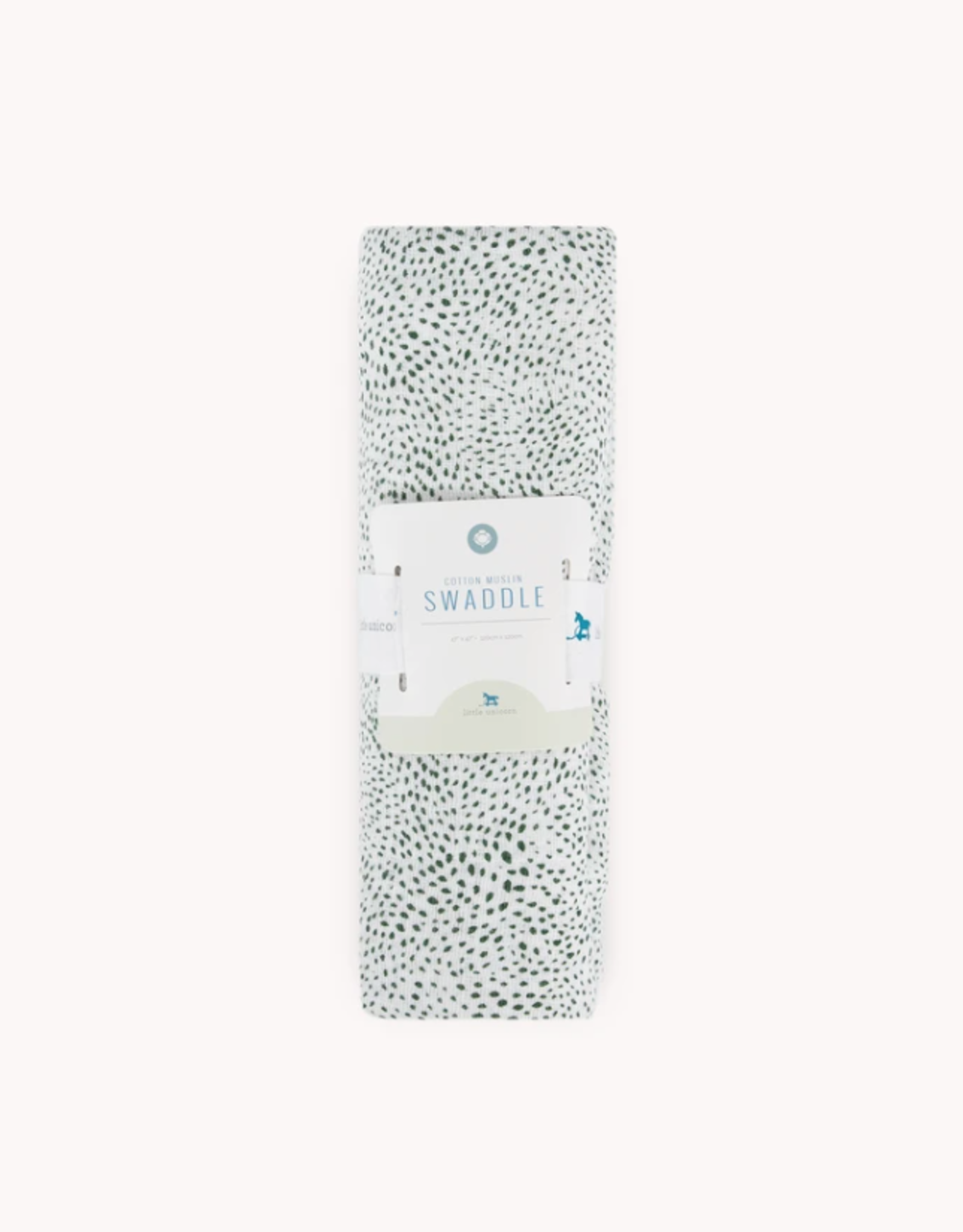 Cotton Muslin Swaddle Single - Green Seed