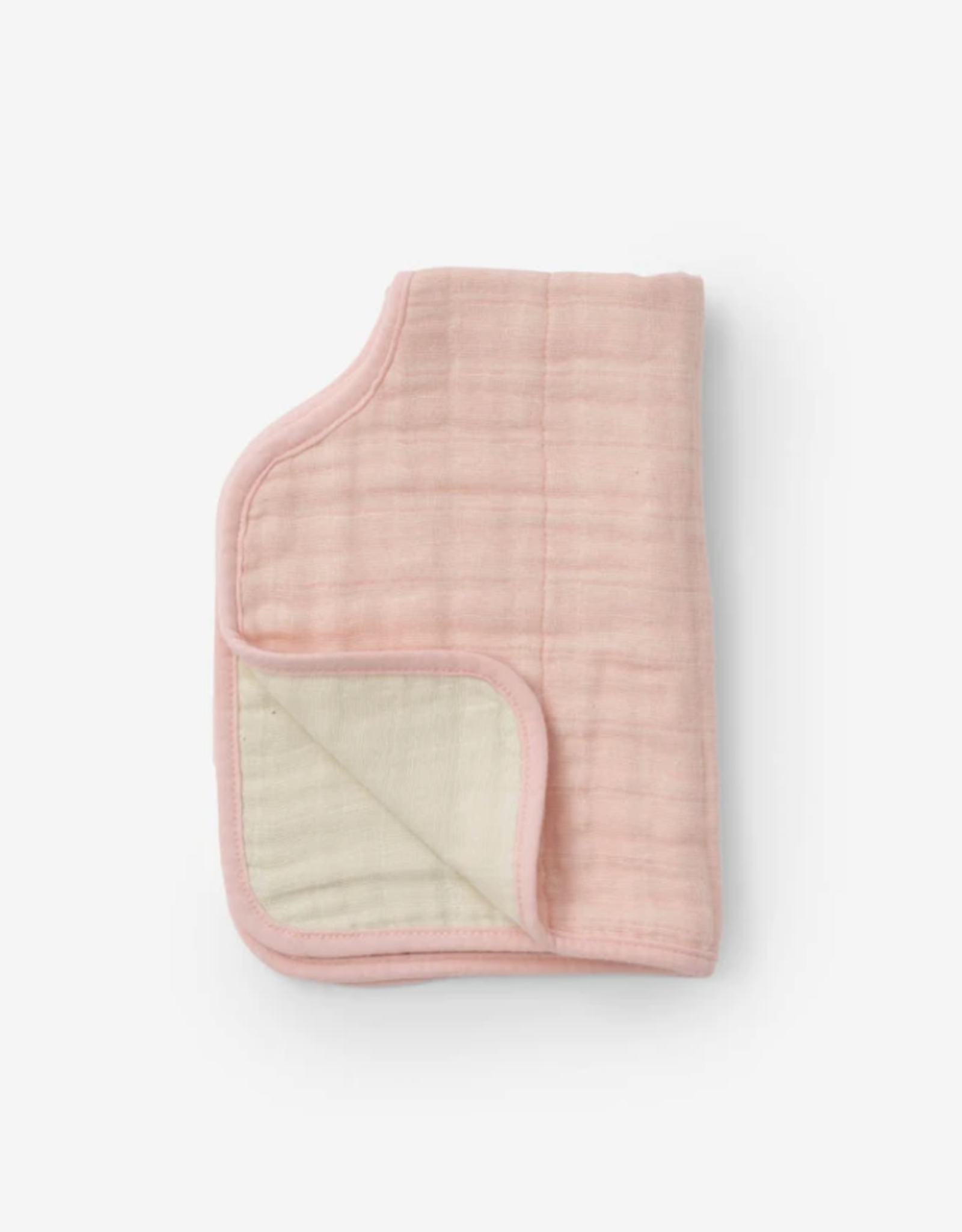 Cotton Muslin Burp Cloth - Rose Petal