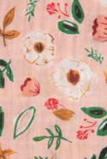 Cotton Muslin Swaddle Single - Vintage Floral