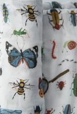 Deluxe Muslin Swaddle Single - Bugs